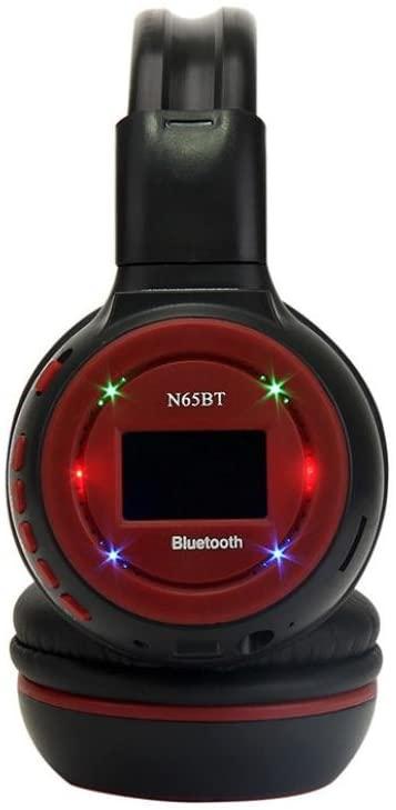 هدفون بلوتوث ال سی دی دار مدل BS-N65BT-