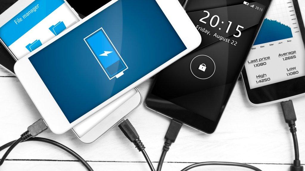 شارژ اولیه موبایل سامسونگ