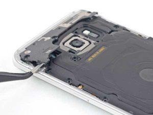 نحوه باز کردن باتری گوشی سامسونگ S7 EDGE