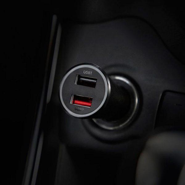 شارژر فندکی خودرو شیائومی Mi 37W Dual port car charger