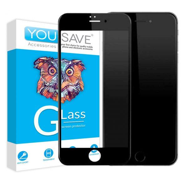 گلس تمام صفحه اپل iphone 6plus/6s plus
