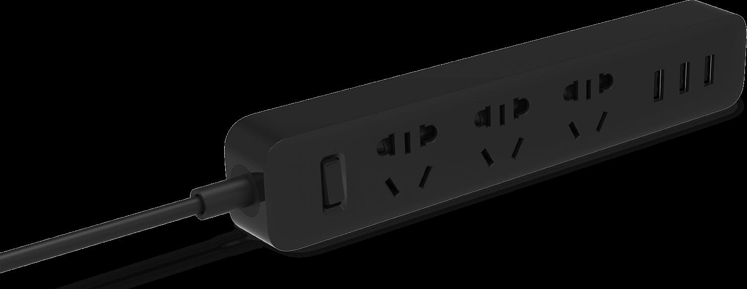 چند راهی برق شیائومی مدل PORT3 USB3