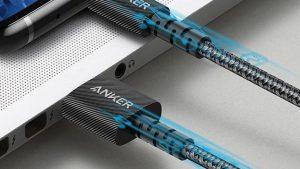 کابل شارژ AnkerPowerline Select+ USB-C To USB-A Cable