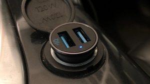 مشخصات-شارژر-اتومبیل ANKER -PowerDrive -2 -Alloy- car -charger