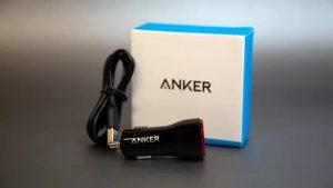مشخصات شارژر Anker- power- drive 2-port car charger