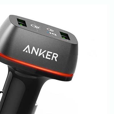 شارژر فندکی Anker Quick Charge 3.0
