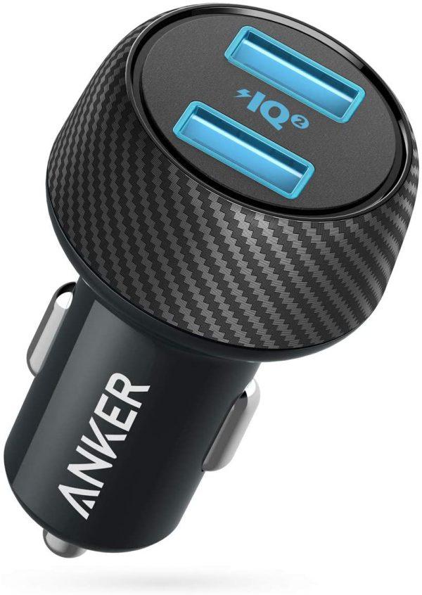 مشخصات شارژر فندکی Anker PowerDrive 2 Elite 24W car charger