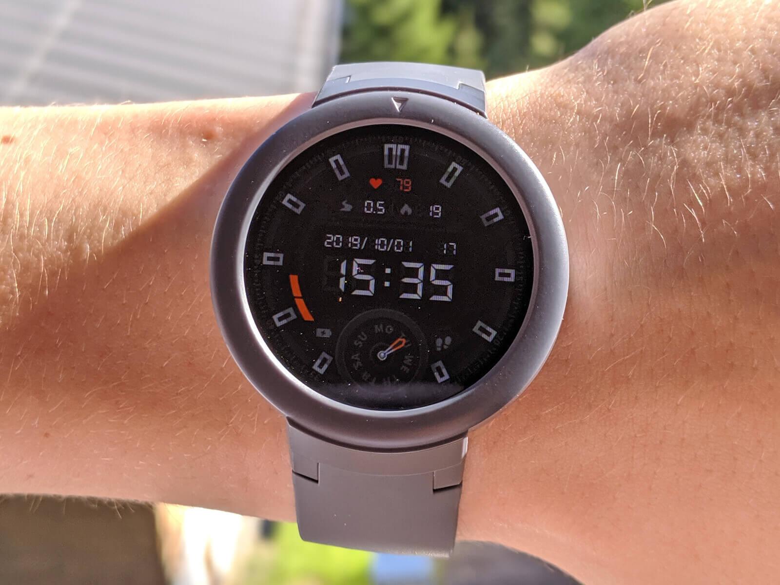 ساعت هوشمند امیزفیت مدل Verge Lite شیائومی
