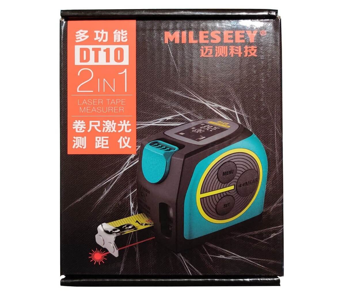 متر دیجیتال لیزری مایلسی DT10