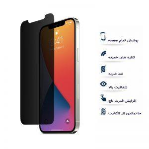 گلس مات اپل iphone 12 mini