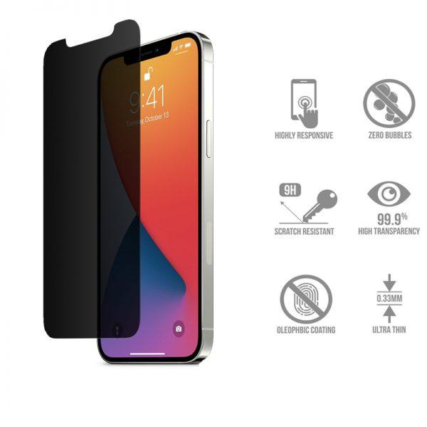 گلس مات اپل iphone 12 promax