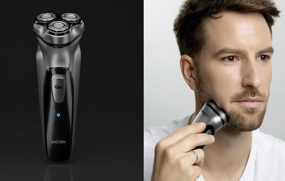ریش تراش شیائومی مدل Xiaomi Enchen Black Stone 3D Electric Shaver