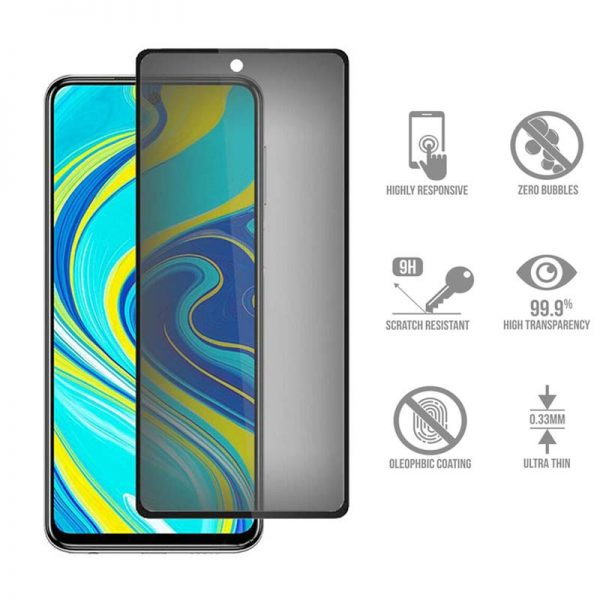 گلس مات شیائومی redmi note 9 promax