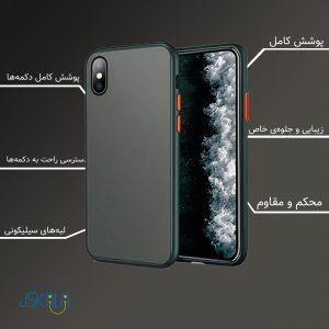 PC matte cover iphone xs max