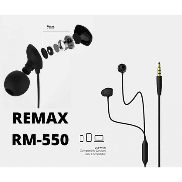 هدفون ریمکس مدل RM-550
