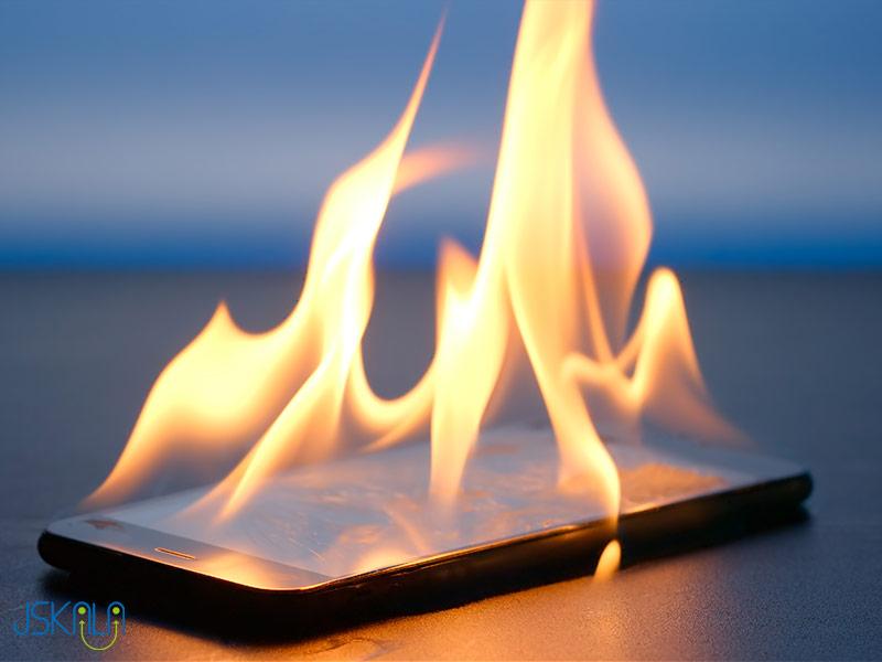 داغ شدن گوشی موبایل
