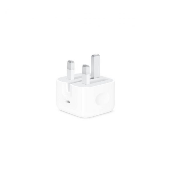 آداپتور شارژ سریع آیفون 20 وات اصلی| 20W USB-C POWER ADAPTER