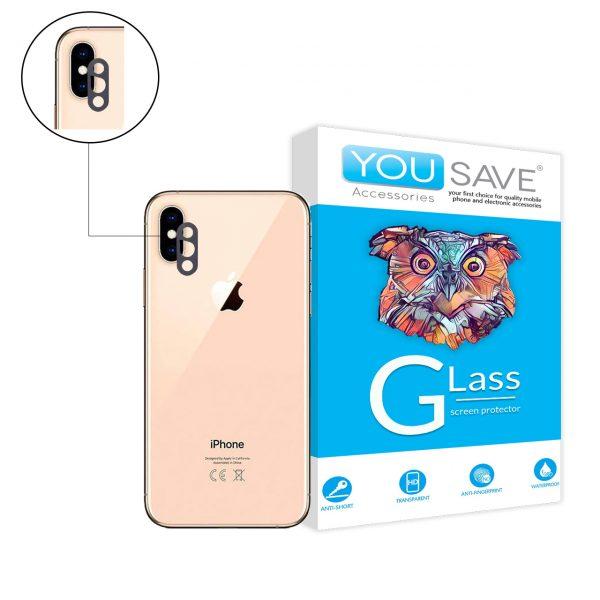 گلس لنز اپل iphone xs max