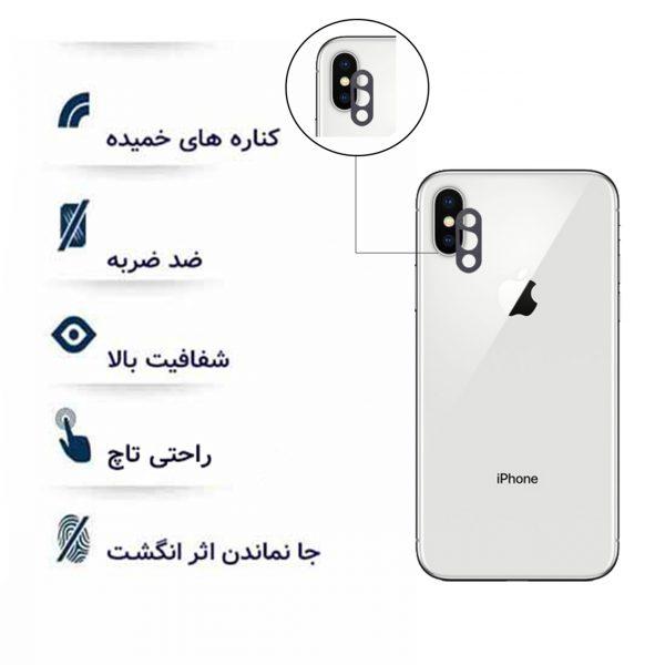 گلس لنز اپل iphone x