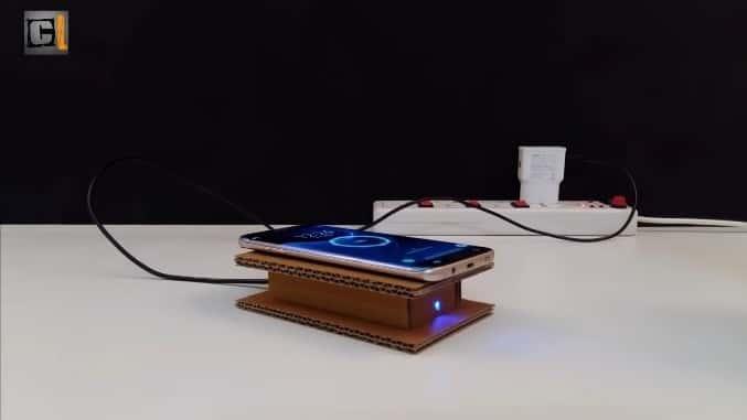 آموزش ساخت شارژر موبایل وایرلس