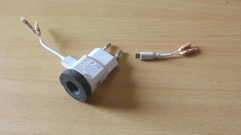آموزش ساخت شارژر موبایل با سیم مسی