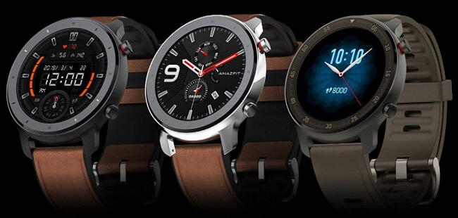 ساعت هوشمند شیائومی مدل amazfit gtr 47 (stainless-allummium)