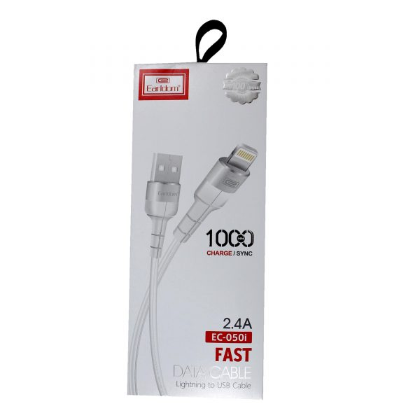 earldom fast data cable lightning to usb cable ec-050i
