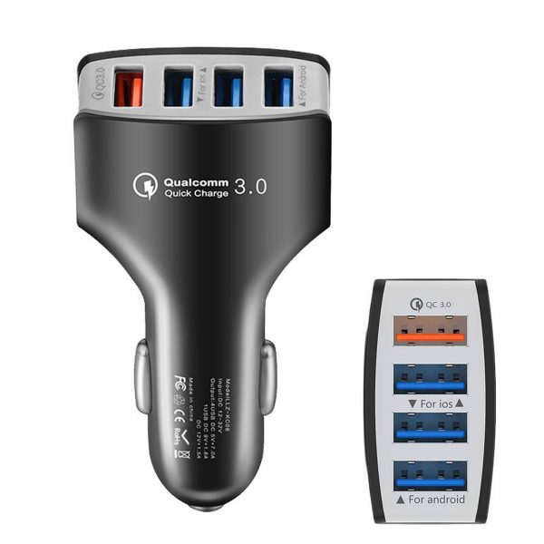 car charger 7a qc 3.0