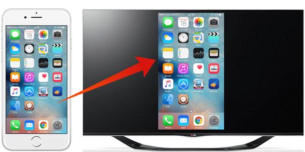 نحوه اتصال آیفون به تلویزیون